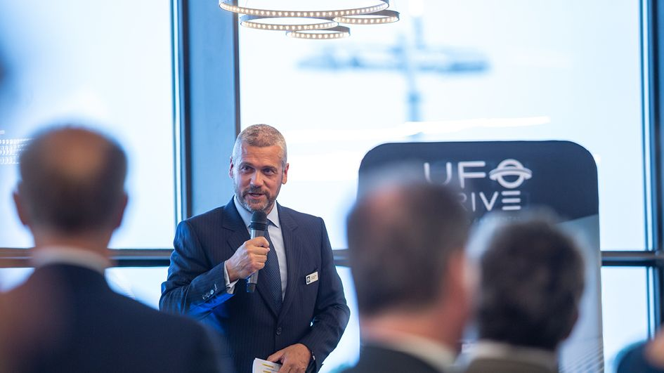 UFODRIVE provides a glimpse of the future at its official launch event at Lux Airport.