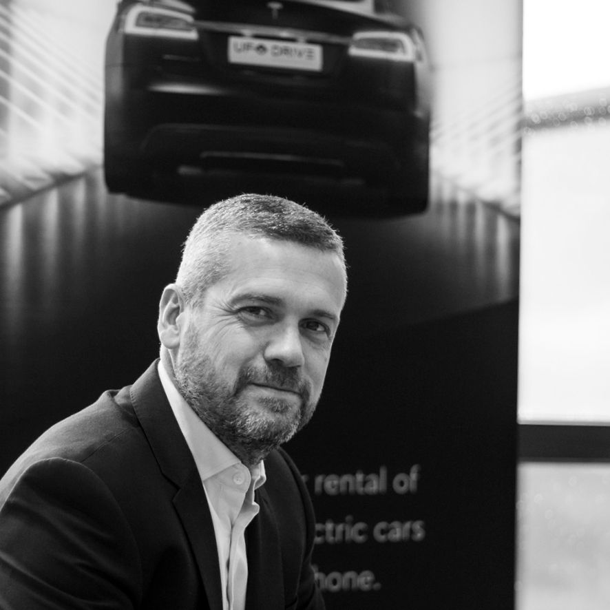 UFODRIVE self-service car rental - Aidan McClean CEO