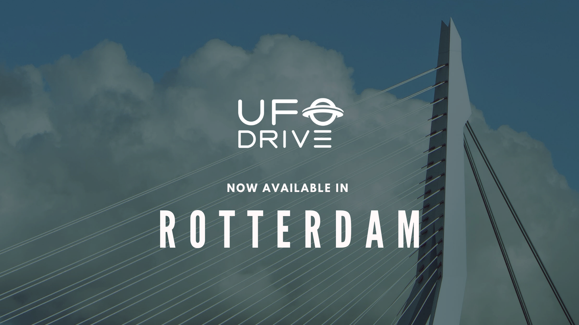 UFODRIVE officially launches in Rotterdam