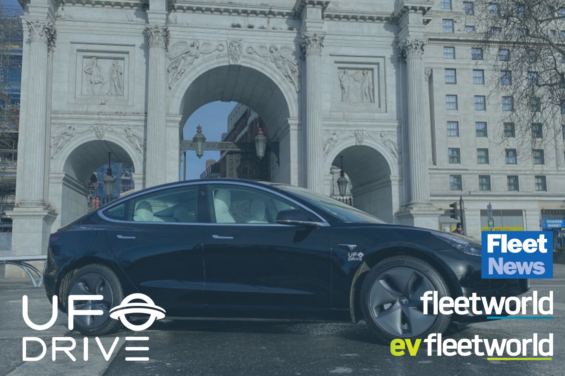 UFODRIVE all-electric car hire platform expands into London
