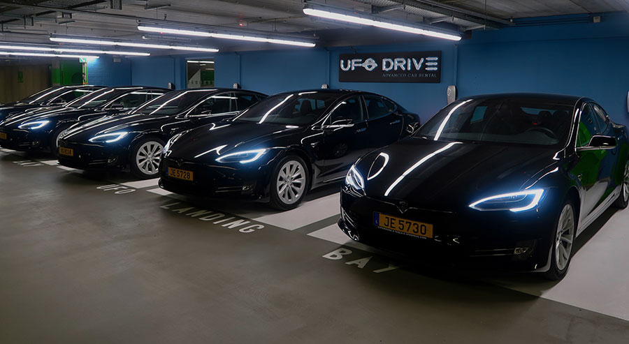 UFODRIVE Luxembourg Airport