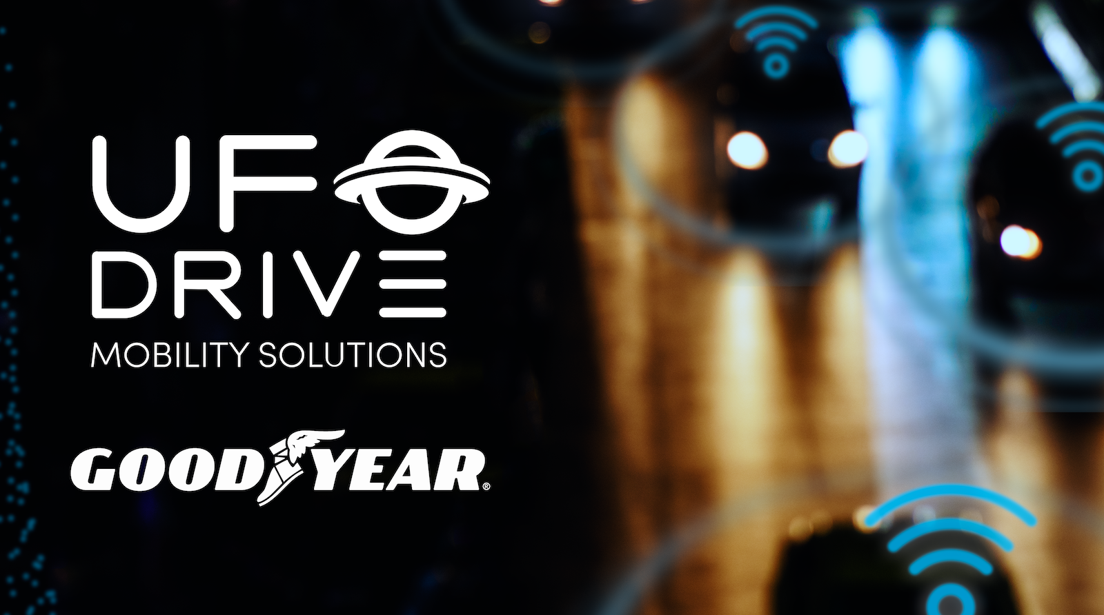 UFODrive Teams Up with Goodyear to Revolutionise eMobility