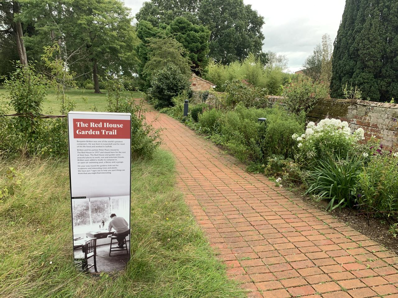 The Red House garden trail